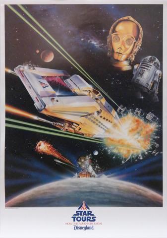 Star Tours Opening Year Poster - ID: maydisneyana19224 Disneyana