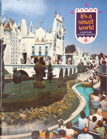 1969 It's a Small World Disneyland Pictorial Souvenir - ID: maydisneyland19237 Disneyana