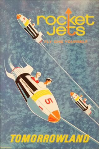 Rocket Jets Attraction Poster - ID: maydisneyland19951 Disneyana