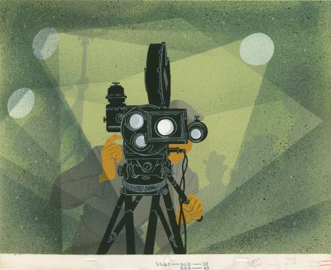 The Goofy Success Story Production Background - ID: octdisney19001 Walt Disney