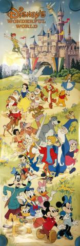 1970s Disney's Wonderful World Poster - ID: octdisney19377 Walt Disney