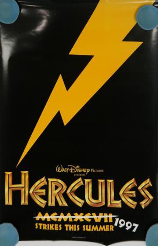 Hercules One-Sheet Black Movie Poster - ID: octhercules19351 Walt Disney