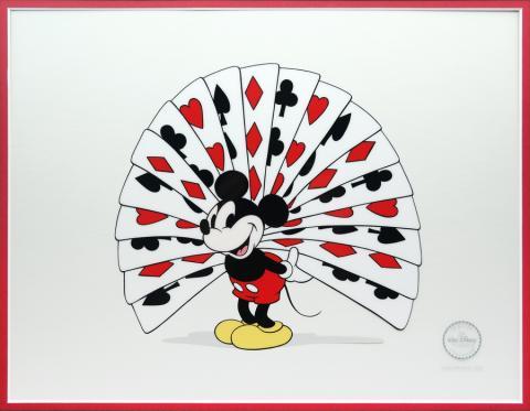 Thru the Mirror Sericel - ID: octmickey19404 Walt Disney