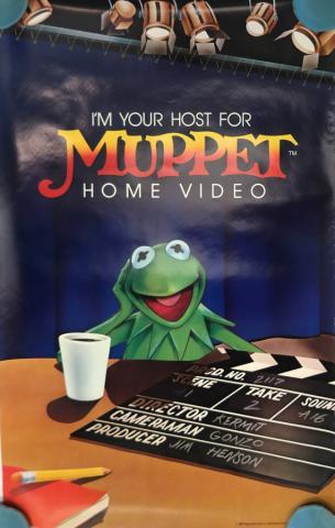 Muppet Home Video Poster - ID: octmuppets19375