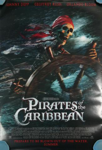 Pirates of the Carribean One-Sheet Movie Poster - ID: octpirates19356 Walt Disney