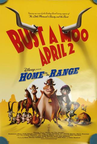 Home on the Range One-Sheet Movie Poster - ID: octrange19357 Walt Disney