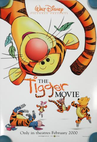The Tigger Movie One-Sheet Movie Poster - ID: octtigger19358 Walt Disney