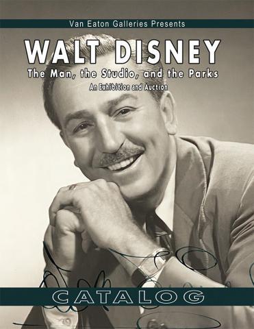 Softcover Walt Disney: The Man Catalog - ID: auc0014soft Disneyana