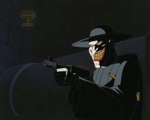 Batman the Animated Series Production Cel - ID: aprbatmanRCS8482 Warner Bros.