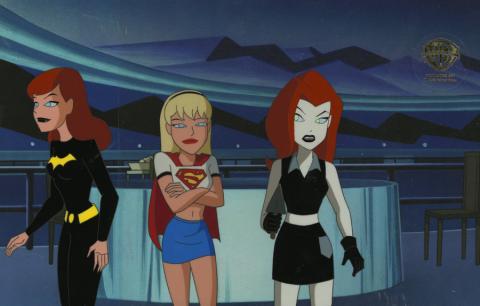 The New Batman Adventures Production Cel - ID: aprbatmanRCS8502 Warner Bros.