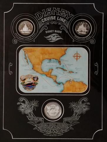 Disney Cruise 2005 Panama Crossing Medallion Set - ID: aprdisneyana20136 Disneyana