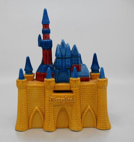Disneyland Souvenir Ceramic Castle Bank - ID: aprdisneyland20254 Disneyana