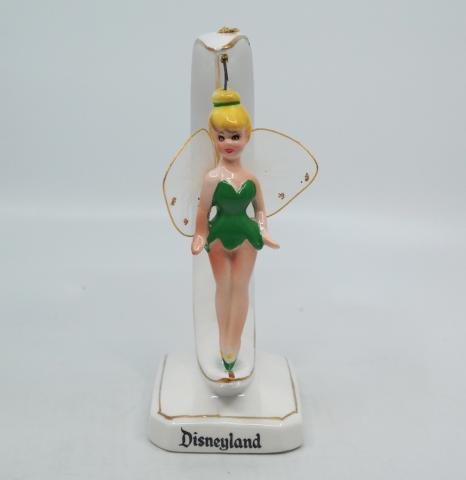Disneyland Souvenir Ceramic Tinker Bell Figurine - ID: aprdisneyland20259 Disneyana