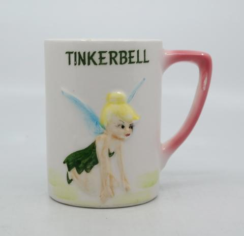 Disneyland Souvenir Ceramic Tinker Bell Mug - ID: aprdisneyland20267 Disneyana