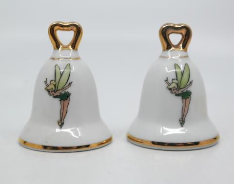 Disneyland Souvenir Tinker Bell Salt and Pepper Shakers - ID: aprdisneyland20273 Disneyana