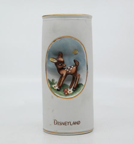 1960s Disneyland Decorative Bambi Vase - ID: aprdisneyland20286 Disneyana