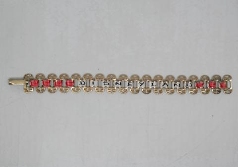 1950s/1960s Disneyland Painted Bracelet - ID: aprdisneyland20291 Disneyana