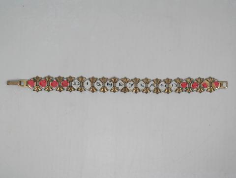 1950s/1960s Disneyland Painted Bracelet - ID: aprdisneyland20292 Disneyana