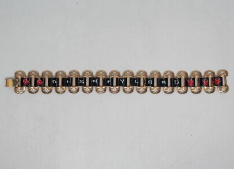 1950s/1960s Disneyland Painted Bracelet - ID: aprdisneyland20293 Disneyana