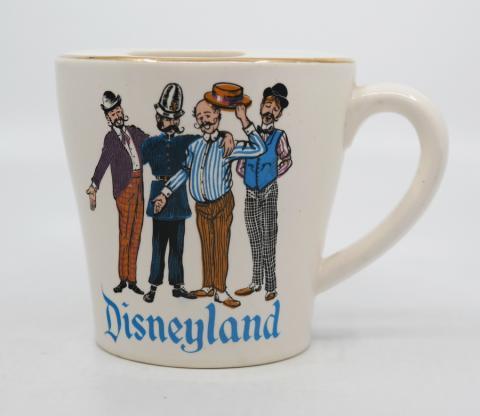 1950s Disneyland Moustache Cup - ID: aprdisneyland20302 Disneyana