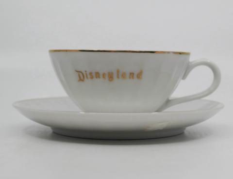1960s/1970s Disneyland Teacup and Saucer - ID: aprdisneyland20303 Disneyana