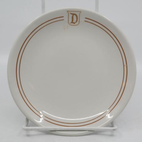 1970s/1980s Disneyland Restaurant Plate - ID: aprdisneyland20305 Disneyana