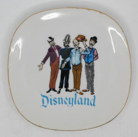 1950s Disneyland Barbershop Quartet Plate - ID: aprdisneyland20307 Disneyana
