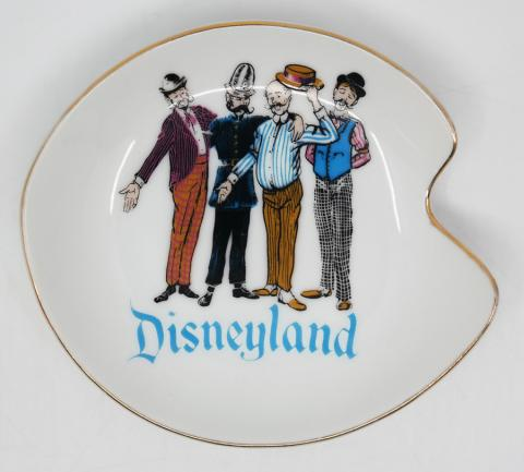 1950s Disneyland Barbershop Quartet Plate - ID: aprdisneyland20308 Disneyana
