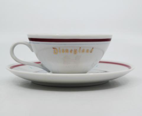 Disneyland Land Icons Teacup and Saucer - ID: aprdisneyland20310 Disneyana
