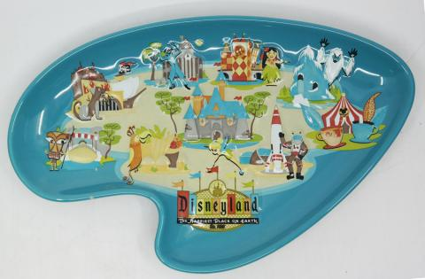 Disneyland 50th Anniversary Dish - ID: aprdisneyland20316 Disneyana