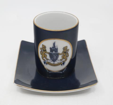 Disneyland Souvenir Ceramic Cup and Saucer- ID: aprdisneyland20355 Disneyana