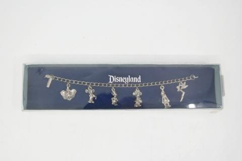 Disneyland Souvenir Charm Bracelet- ID: aprdisneyland20373 Disneyana