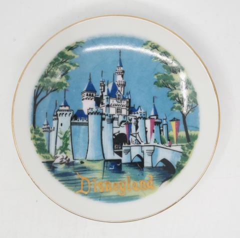 Disneyland Ceramic Souvenir Mini-Plate - ID: aprdisneyland20378 Disneyana