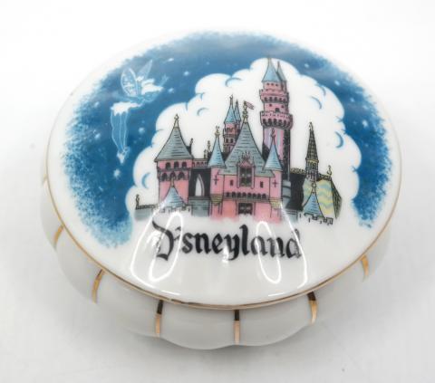 Disneyland Ceramic Keepsake Box- ID: aprdisneyland20382 Disneyana