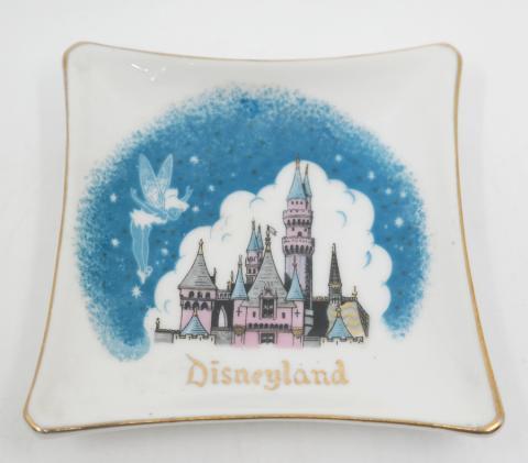 Disneyland Ceramic Ashtray- ID: aprdisneyland20383 Disneyana