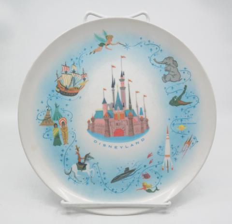 Disneyland Souvenir Melmac Plate - ID: aprdisneyland20389 Disneyana
