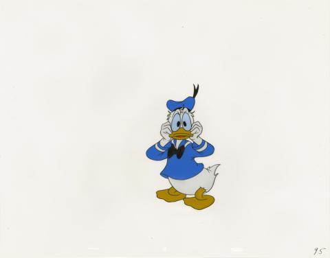 Donald Duck Production Cel - ID: aprdonald20054 Walt Disney