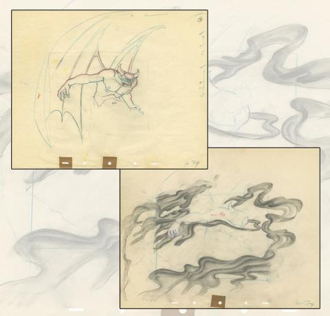 Fantasia Production Drawing - ID: aprfantasia20016 Walt Disney