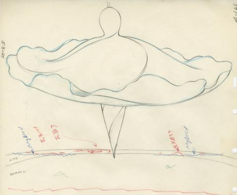 Fantasia Production Drawing - ID: aprfantasia20202 Walt Disney
