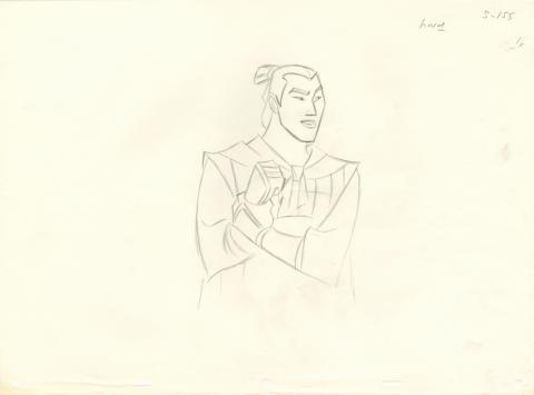 Mulan Production Drawing - ID: aprmulan20003 Walt Disney