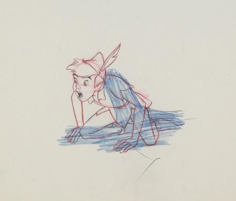 Peter Pan Production Drawing - ID: aprpeterpan20250 Walt Disney