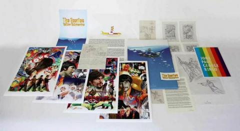 Beatles Boxed Set of (4) Signed Giclee Prints Print - ID: aprrossAR0001P Alex Ross
