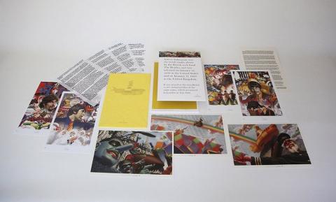Beatles Set of (7) Lithograph Prints Print - ID: aprrossAR0002L Alex Ross