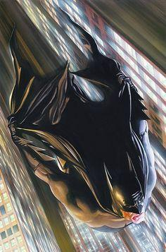 Miracle in Crime Alley Signed Giclee on Canvas Print - ID: aprrossAR0039C Alex Ross