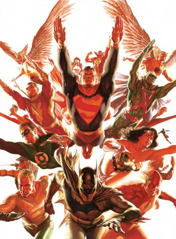 The World's Greatest Super-Heroes Lithograph Print - ID: aprrossAR0060L Alex Ross