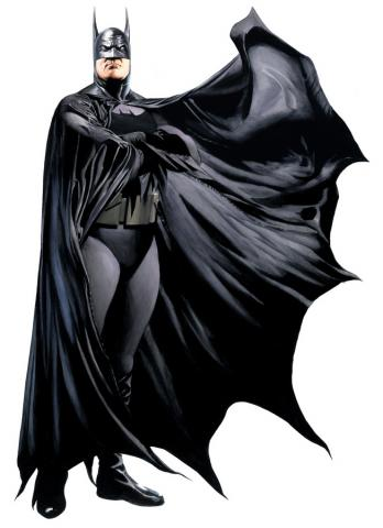 Heroes: Batman Exclusive Lithograph Print - ID: aprrossAR0062DL Alex Ross
