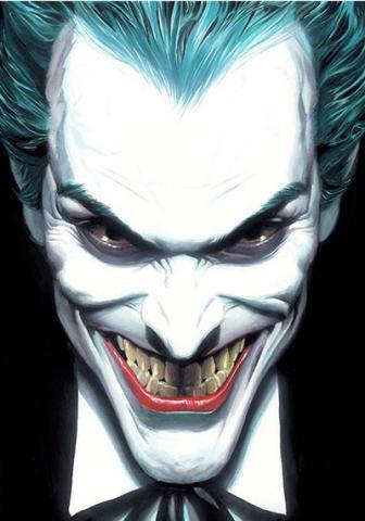 Portrait Of Villainy Joker Print - ID: aprrossAR0096C Alex Ross