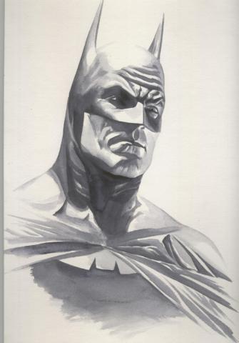 Gotham Knight Signed Giclee on Paper Print - ID: aprrossAR0123P Alex Ross