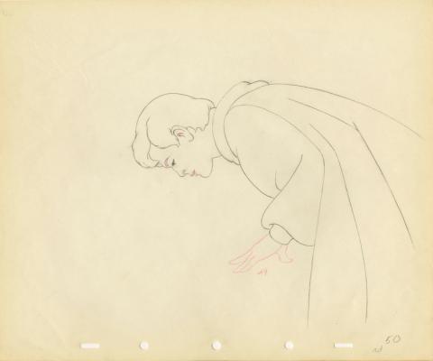 Snow White Production Drawing - ID: aprsnowwhite20033 Walt Disney