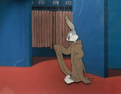 Hasty Hare Production Cel - ID: augbugs20254 Warner Bros.
